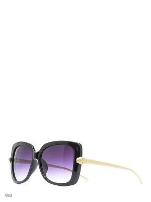 Солнцезащитные очки Vitacci. Цвет: черный