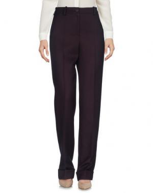 Повседневные брюки JACQUEMUS. Цвет: баклажанный