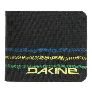 Кошелек  Payback Wallet Bandon Dakine. Цвет: черный,светло-голубой,светло-желтый