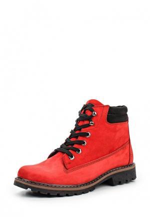 Ботинки Crosby. Цвет: красный