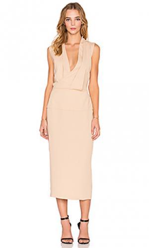 Платье lillianne Maurie & Eve. Цвет: цвет загара