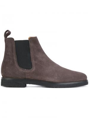 Ботинки Челси Etq.. Цвет: серый