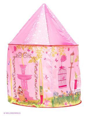 Палатка игровая Розовая мечта Наша Игрушка. Цвет: розовый, красный