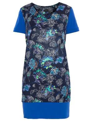 Платье Sarafan. Цвет: синий