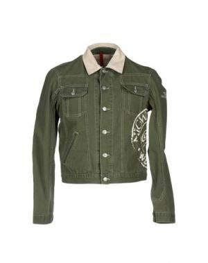 Куртка NICWAVE. Цвет: зеленый