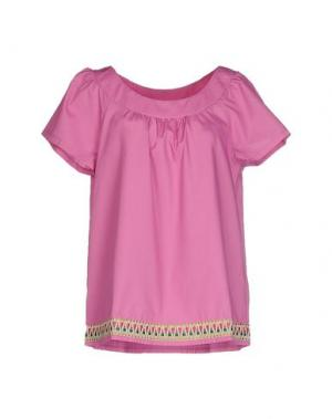 Блузка J' AIME LES GARÇONS. Цвет: светло-фиолетовый