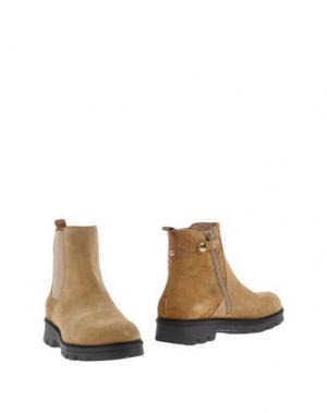 Полусапоги и высокие ботинки ALVIERO MARTINI 1a CLASSE. Цвет: верблюжий
