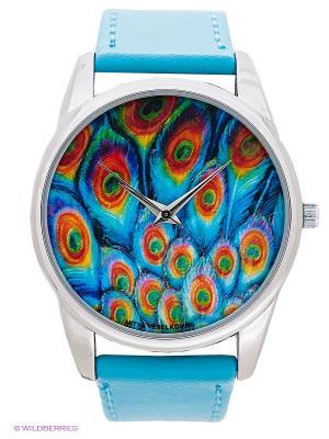 Часы Mitya Veselkov. Цвет: голубой