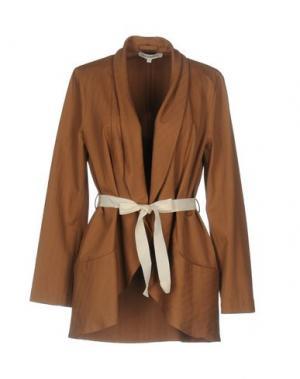 Пиджак PAOLO CASALINI. Цвет: коричневый