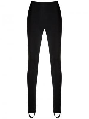 High waist leggings Reinaldo Lourenço. Цвет: чёрный