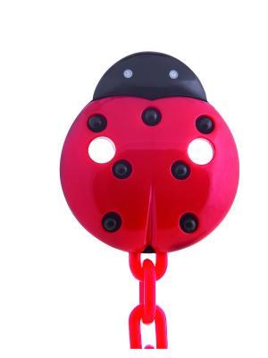 Клипса-держатель для пустышек, 0+, цвет: красный Canpol babies. Цвет: красный