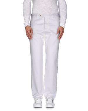 Повседневные брюки ALAIN FRACASSÍ. Цвет: белый