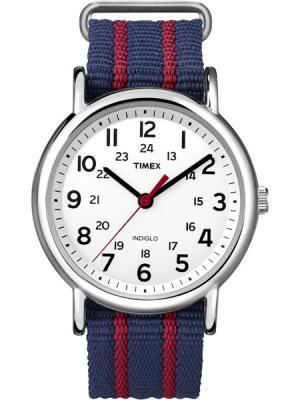 Часы TIMEX. Цвет: синий, красный