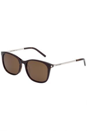 Солнцезащитные очки Saint Laurent. Цвет: 004