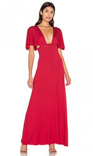 Платье jaelyn Clayton. Цвет: красный