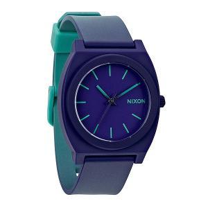 Часы  Time Teller P Teal/Purple Fade Nixon. Цвет: голубой,фиолетовый