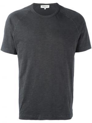 Базовая футболка YMC. Цвет: чёрный
