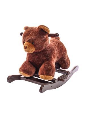 Медвежонок-качалка Toyland. Цвет: коричневый