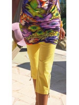 Капри APART. Цвет: желтый