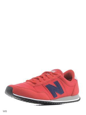 Кроссовки 396 New balance. Цвет: красный
