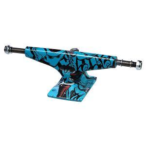 Подвеска 1шт. для скейтборда  Screaming Hand Ii Blue 8 (20.3 см) Krux. Цвет: черный,голубой