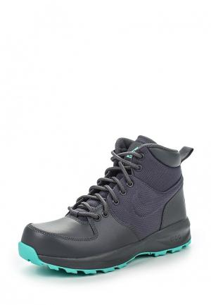 Ботинки Nike. Цвет: серый