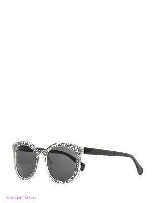 Солнцезащитные очки Vita pelle. Цвет: серебристый