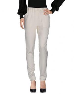 Повседневные брюки 08 SIRCUS. Цвет: белый