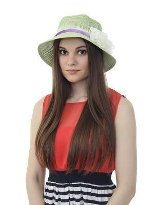 Шляпа Gusachi. Цвет: зеленый, голубой, фиолетовый, желтый, белый