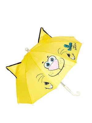 Зонт Mitya Veselkov. Цвет: желтый