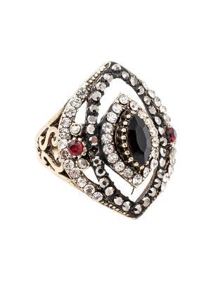 Кольцо Kameo-bis. Цвет: черный, красный, белый