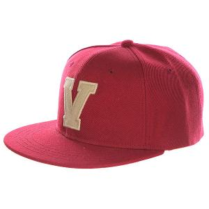 Бейсболка с прямым козырьком Truespin Abc Bordo V. Цвет: бордовый
