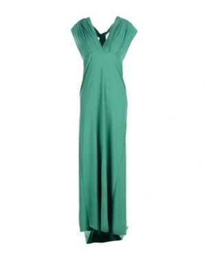 Длинное платье VON VONNI. Цвет: зеленый