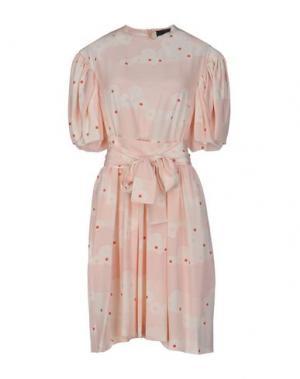Короткое платье SIMONE ROCHA. Цвет: светло-розовый