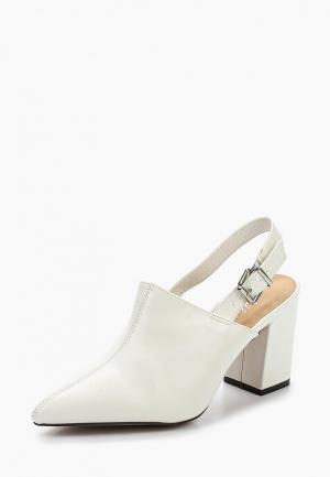 Туфли Mellisa. Цвет: белый