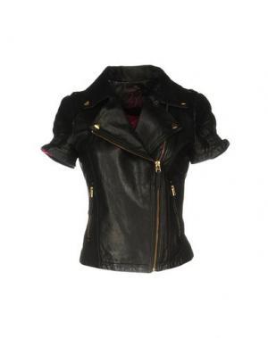 Куртка BEA. Цвет: черный