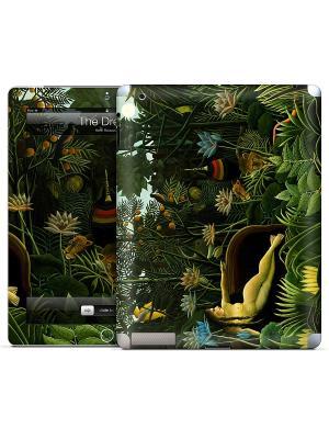 Наклейка для iPad 2,3,4 The Dream-Henri Rousseau Gelaskins. Цвет: белый, зеленый