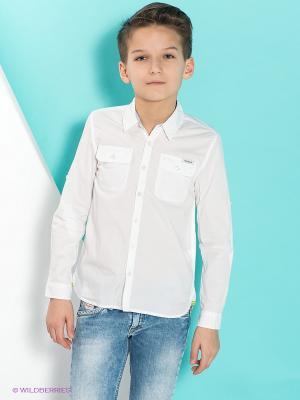 Рубашка PEPE JEANS LONDON. Цвет: белый
