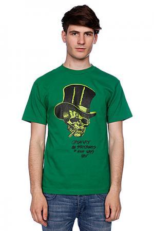 Футболка  High Class Shit Kelly Green Creature. Цвет: зеленый