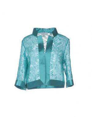 Пиджак CAILAN'D. Цвет: бирюзовый