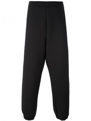 Loose fit track pants Astrid Andersen. Цвет: чёрный