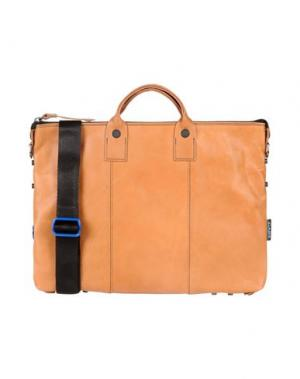 Деловые сумки GABS. Цвет: верблюжий