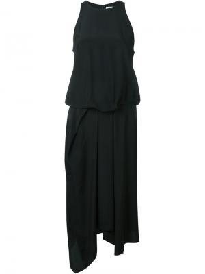 Драпированное платье Chalayan. Цвет: чёрный