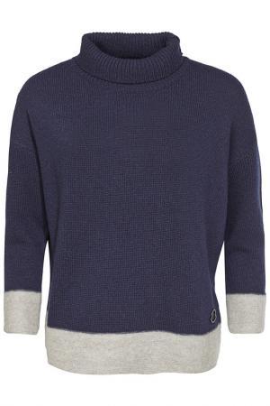 Пуловер Moncler. Цвет: синий