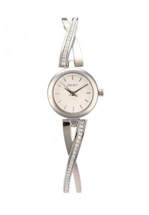 Часы DKNY. Цвет: серебряный