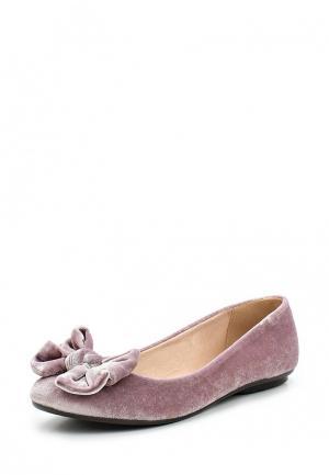 Балетки Moleca. Цвет: розовый