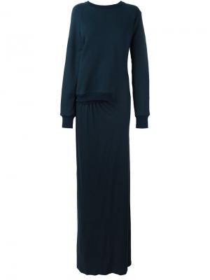 Платье Friday A.F.Vandevorst. Цвет: синий