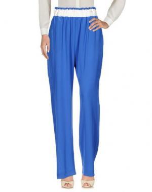 Повседневные брюки CAPRI. Цвет: ярко-синий