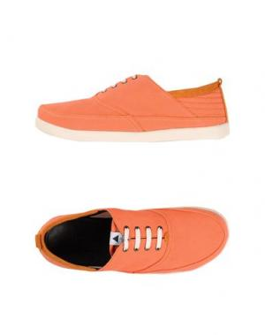 Обувь на шнурках VOLTA. Цвет: лососево-розовый