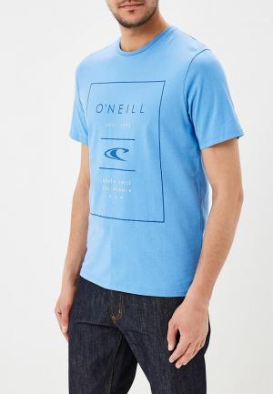 Футболка O`Neill. Цвет: голубой